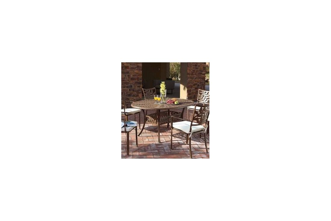 Leaf 6 seater Oval table & chairs