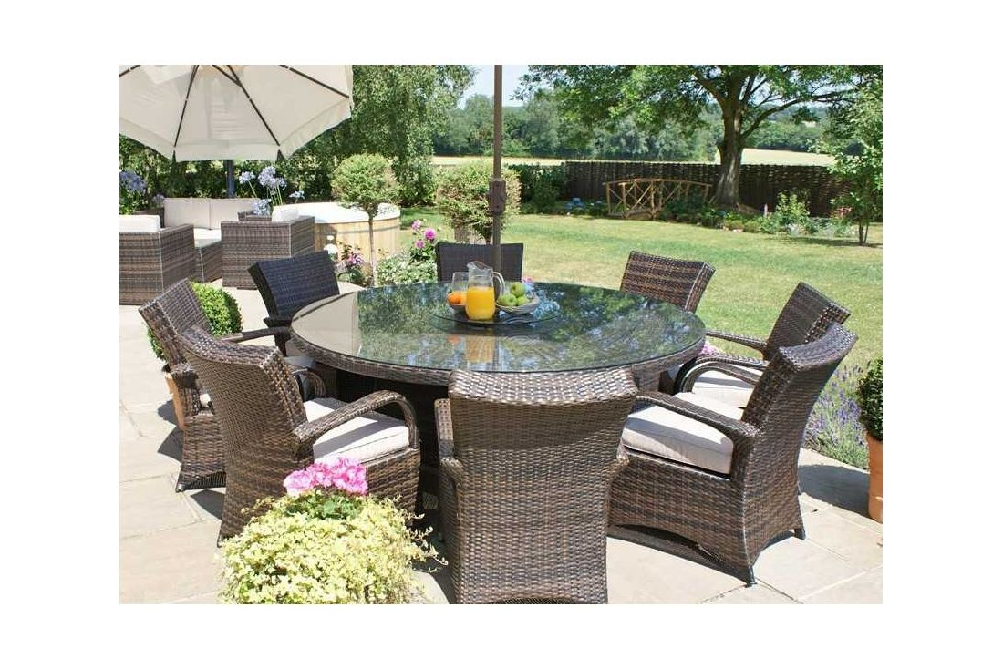 Texas 8 Seater Round Dining
