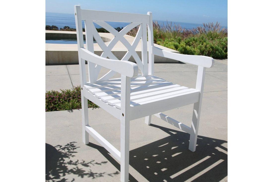 Malibu Painted Armchair