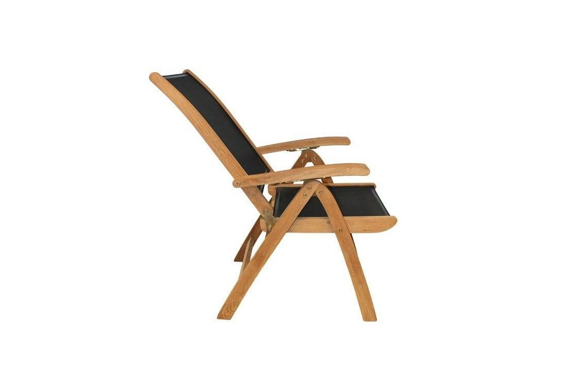 TNT recliner x 6 with 180cm dia chunky table