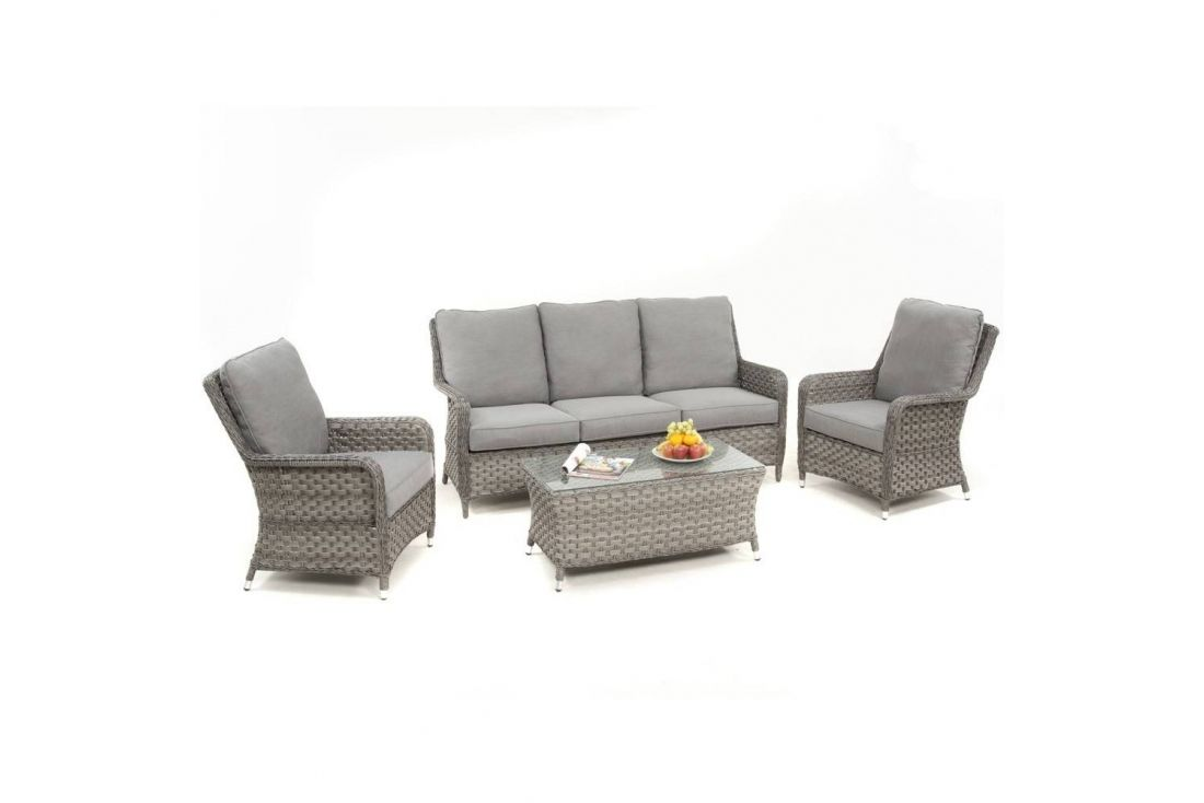Victoria 3 Seater High Back Sofa Set