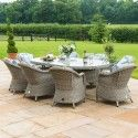 Oxford Heritage 8 Seat Ice Bucket Oval Dining