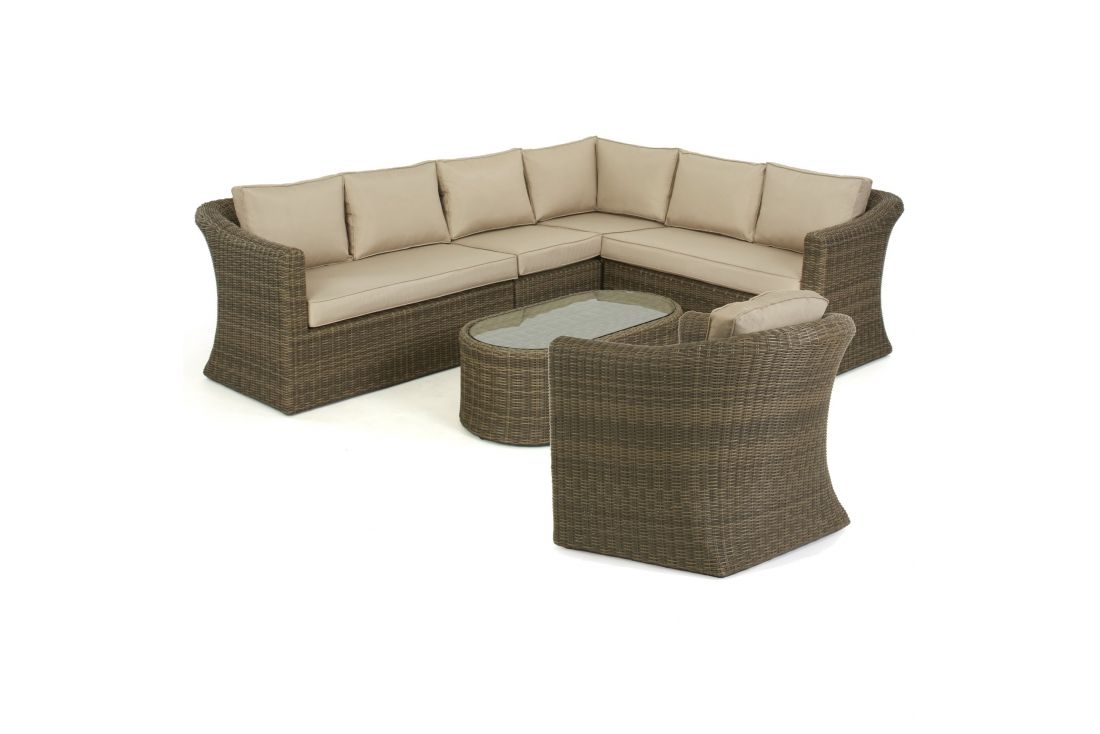 Winchester Large Corner Sofa Set & Chair