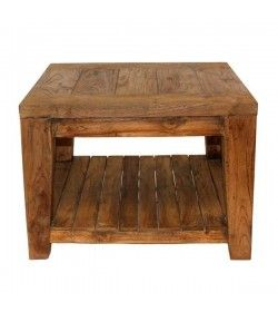 York Reclaimed Teak Side Table