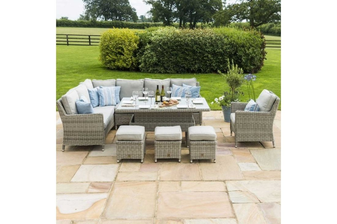Oxford Corner Dining Set with Chair