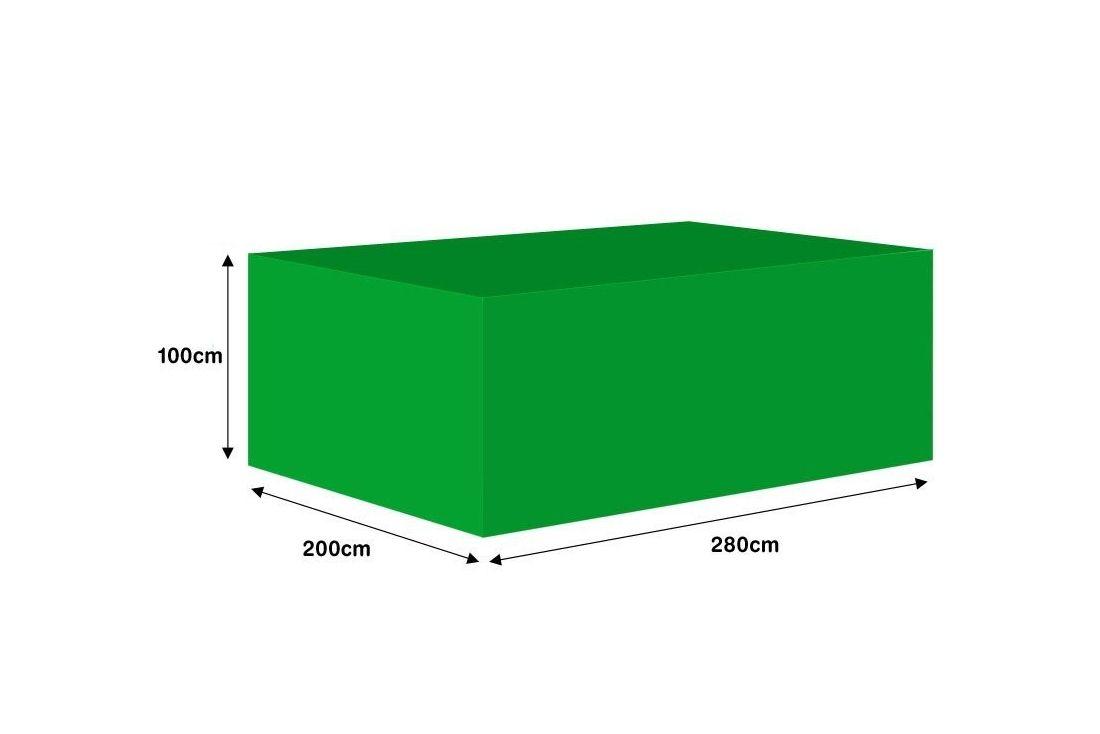Garden furniture cover - Medium rectangular suite