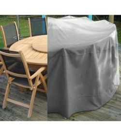 Weather Cover - Medium Round Table - Chairs