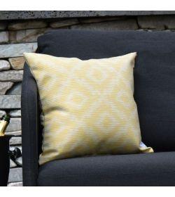 Scatter Cushions x 2  Santorini Yellow