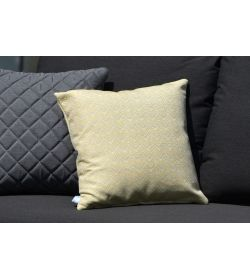 4 Scatter Cushions  Polines Yellow