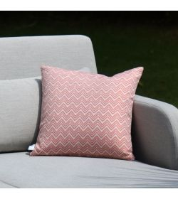 4 Scatter Cushions  Polines Red