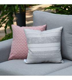 4 Scatter Cushions Bora Bora Grey