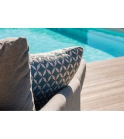 Scatter Cushions x 2 Mosaic Blue