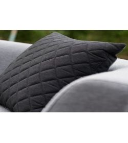 4 Scatter Cushions Quilted - Sooty