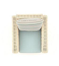 Fiji Pipe Armchair
