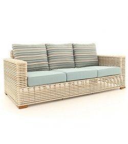 Fiji Pipe 3 seater Sofa