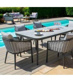 Portofino 8 Seat Rectangular Dining
