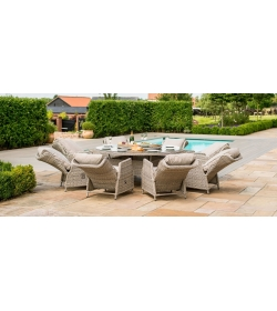 Cotswold Reclining 8 Seat Round Dining