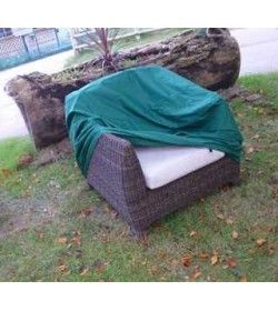 Arm chair weather cover