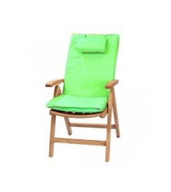 Recliner outdoor cushion - Lime green