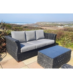 Midnight Montana 3 Seater Sofa