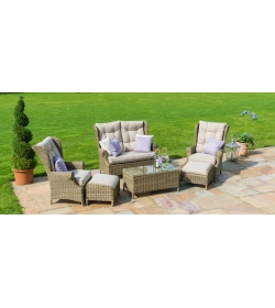 Winchester High Back Sofa Set