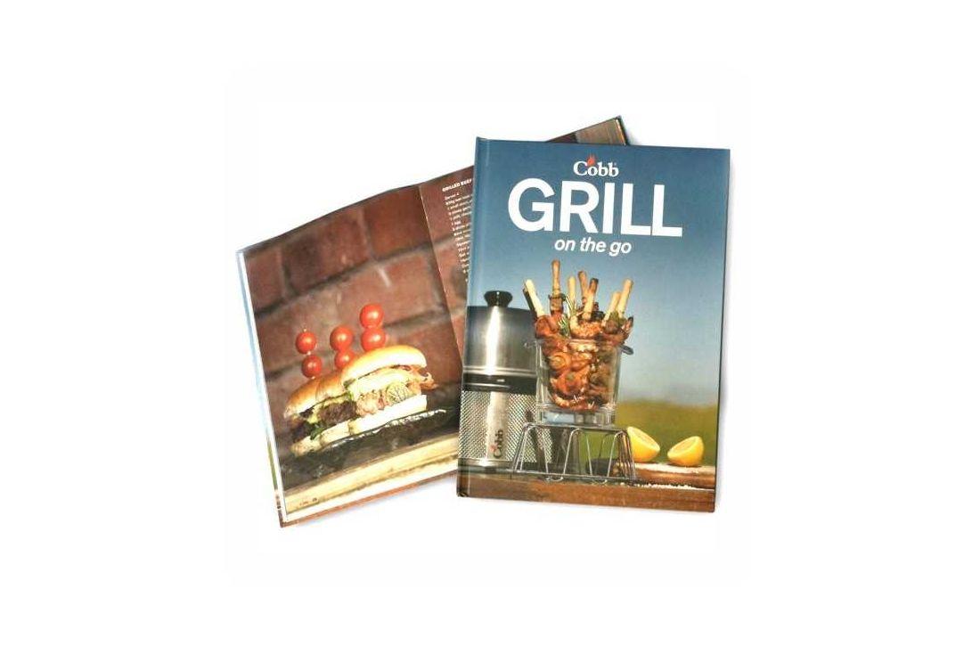 Cobb Recipe Book - Grill On The Go - NEW!