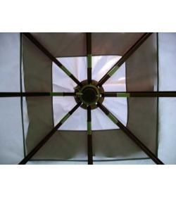 3m x 3m delux gazebo - top frame