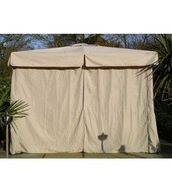 3m x 3m deluxe gazebo - side curtains