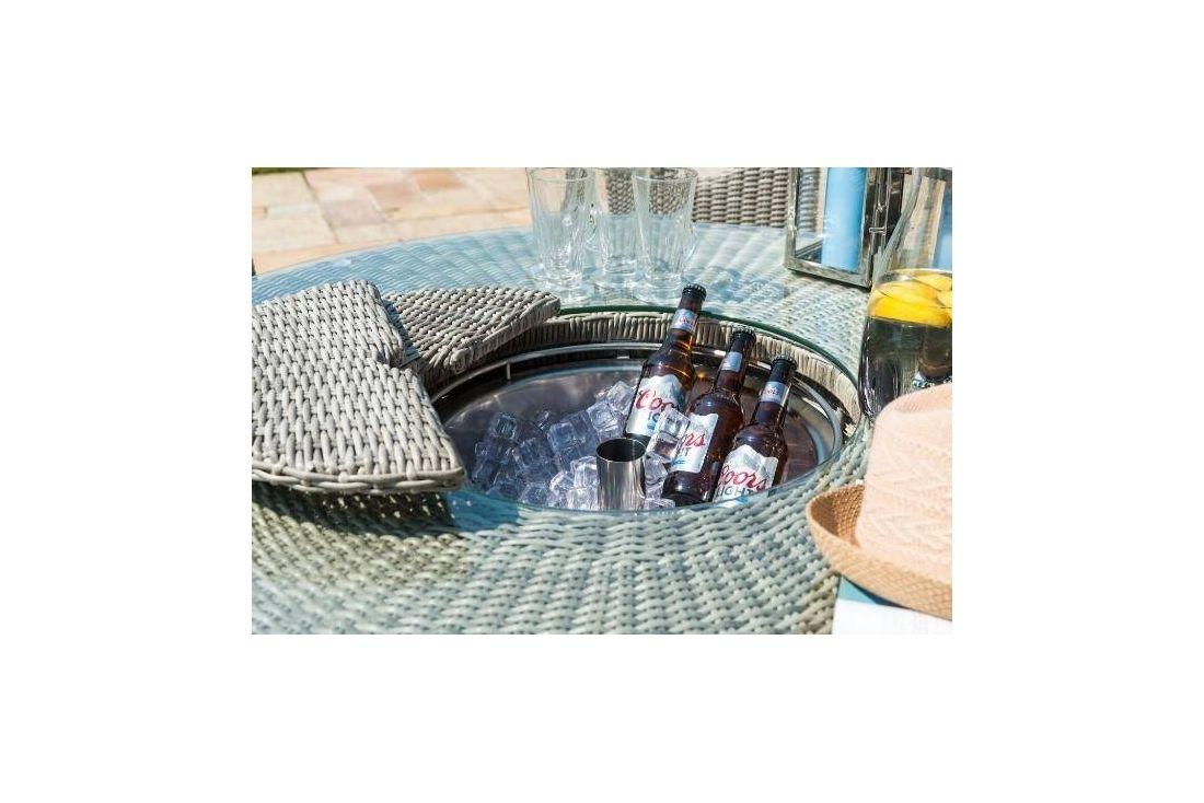 Oxford Bar Set 6 Seat Ice Bucket