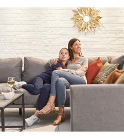 Bliss Fabric Corner Sofa Set