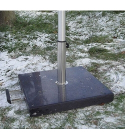 Parasol Base - Concrete Granite Effect - 40kg