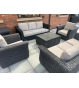 Midnight Montana Double Sofa Suite