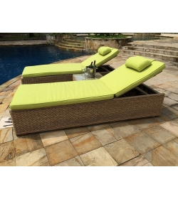 Montana & Fiji Sun Lounger | Replacement Cushion