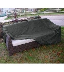 Rattan Three Seater Sofa Cover