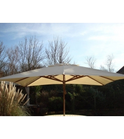 Diamond parasol - 300cm x 200cm rectangular