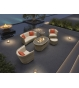 St. Tropez 6 Piece Suite With Firepit