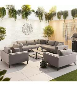 Infinity Corner Sofa Set 2 Armchairs