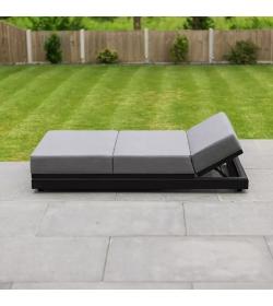Sense Outdoor Fabric Sun Lounger
