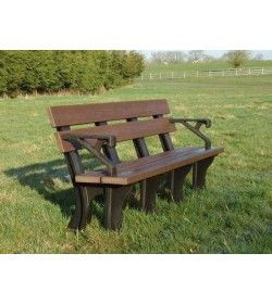 Eco park bench arms 1.8m