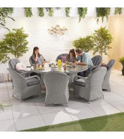 Leeanna 8 Seat Dining Set