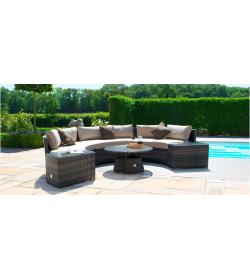 Half Moon Sofa Set