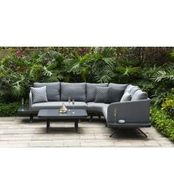 Fabric Cove Corner Sofa Group