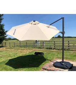 Saturn LED Parasol 3M Diameter