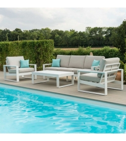 Amalfi 3 Seat Sofa Set