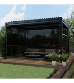 Pergola 4 Drop Sides & LED Lighting