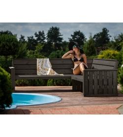 Cecina Corner Bench   FSC® Certified