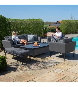 Pulse 3 Seat Sofa Set with Rising Table