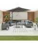 Bliss Corner Sofa Set with 2 Armchairs