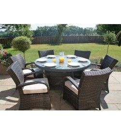 Texas 6 seater Round Dining Set