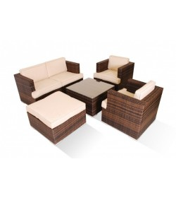 Med sofa set 5 pc Lux